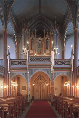Horten kirke. Foto Jiri Havran.